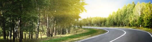 La route des voitures du futur