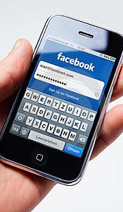 Facebook sur téléphone intelligent