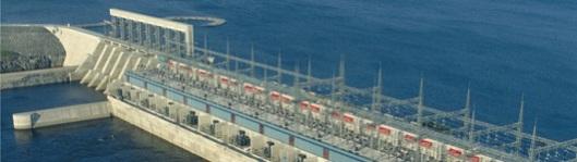 Barrage hydroélectrique LG1